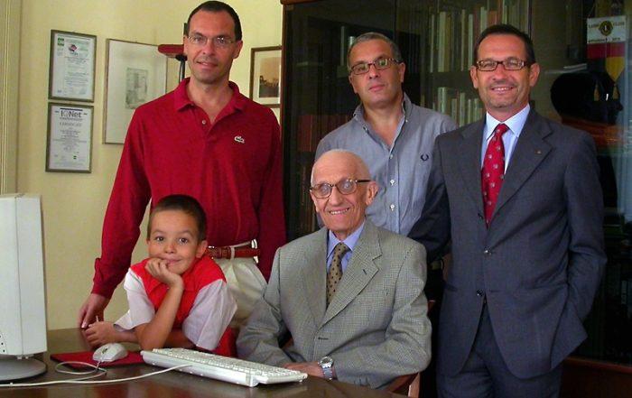 generazioni Fontana con Giovanni
