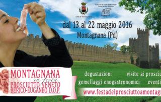 volantino Montagnana in festa 2016