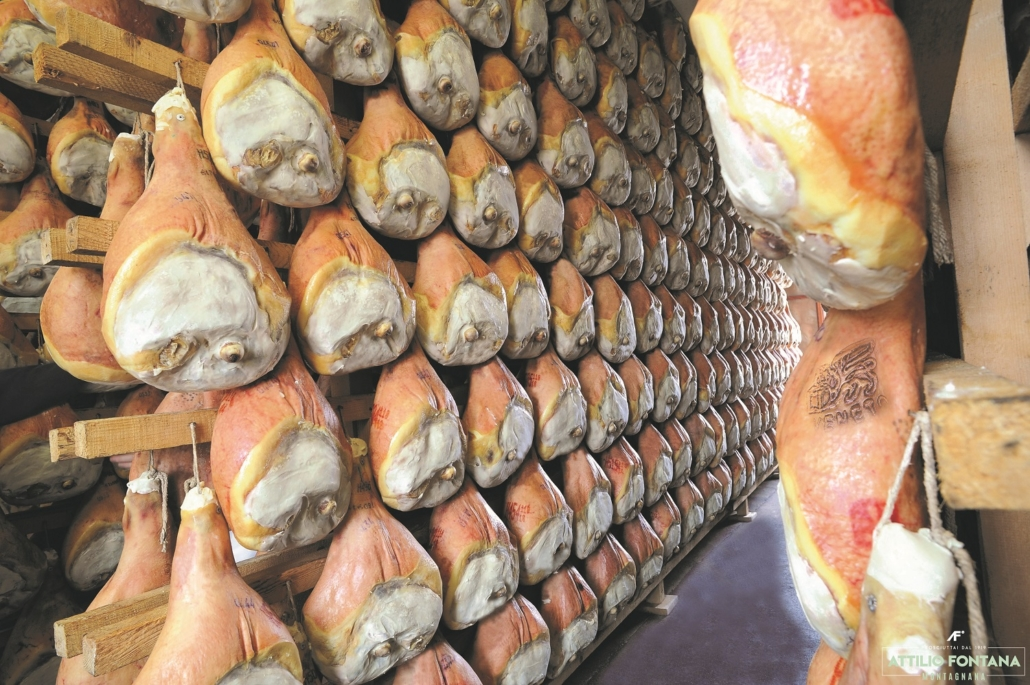 La stagionatura del prosciutto Veneto DOP