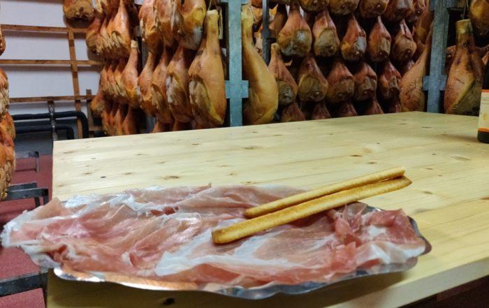 Piatto di prosciutto Veneto DOP
