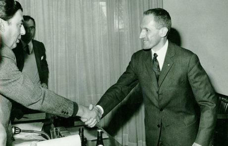 Attilio Fontana nel 1945