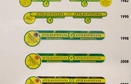 Evoluzione del marchio Attilio Fontana