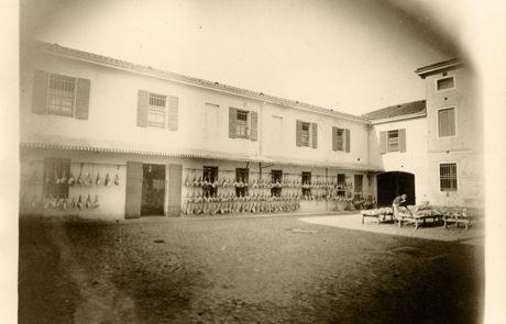 Corte stabilimento Attilio Fontana nel 1929