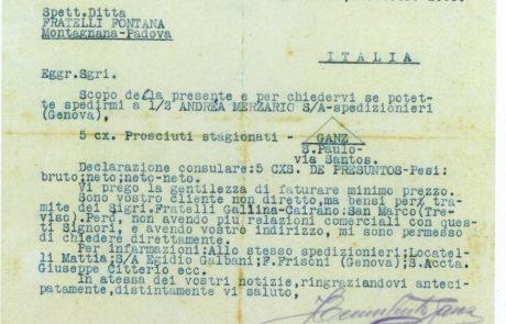 documento di esportazione in Brasile