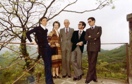 Famiglia Fontana seconda e terza generazione