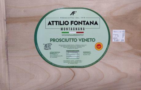 etichetta Prosciutto Fontana DOP