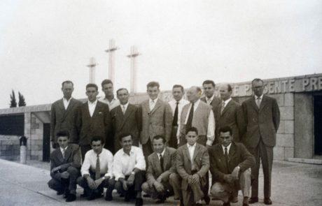 i lavoratori in gita al sacrario di Redipuglia