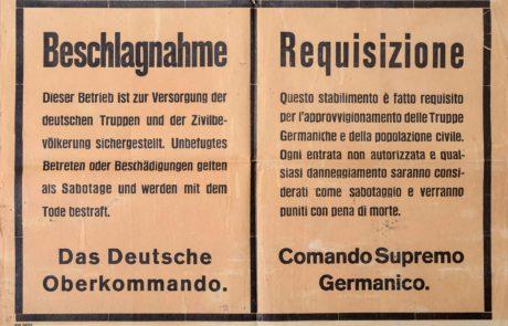 requisizione stabilimento 1945