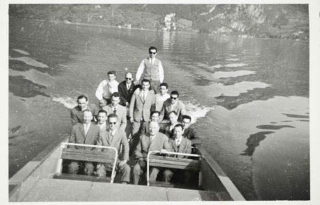 i lavoratori in gita sul Lago d'Iseo